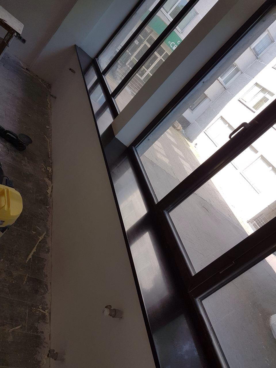 Шести метровый подоконник из камня